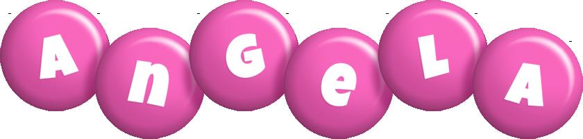 Angela candy-pink logo