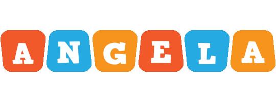 Angela comics logo