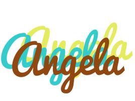 Angela cupcake logo