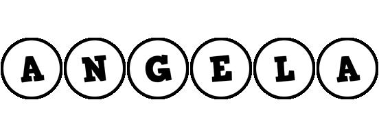 Angela handy logo