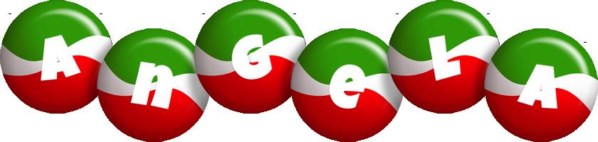 Angela italy logo