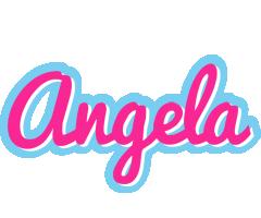 Angela popstar logo