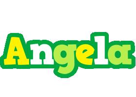 Angela soccer logo