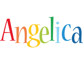 Angelica birthday logo