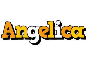 Angelica cartoon logo