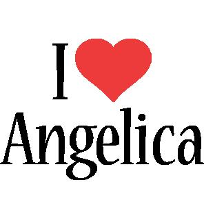 Angelica i-love logo