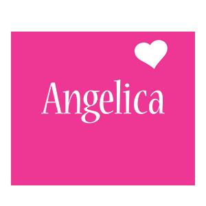 Angelica love-heart logo