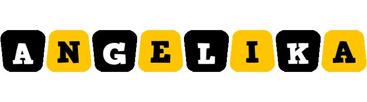 Angelika boots logo