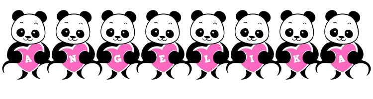 Angelika love-panda logo