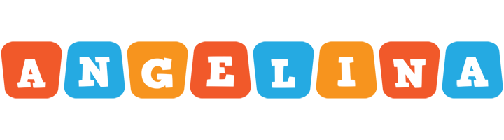Angelina comics logo