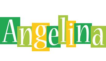 Angelina lemonade logo