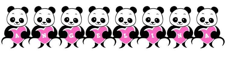 Angelina love-panda logo