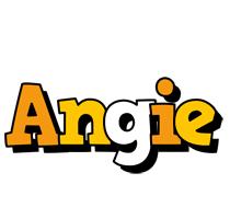 Angie cartoon logo