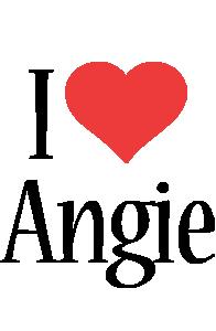 Angie i-love logo