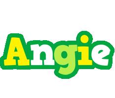 Angie soccer logo