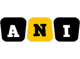 Ani boots logo