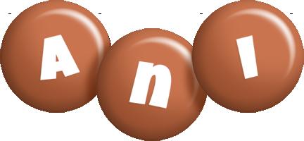 Ani candy-brown logo