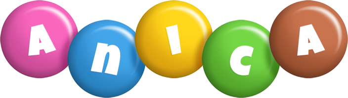 Anica candy logo