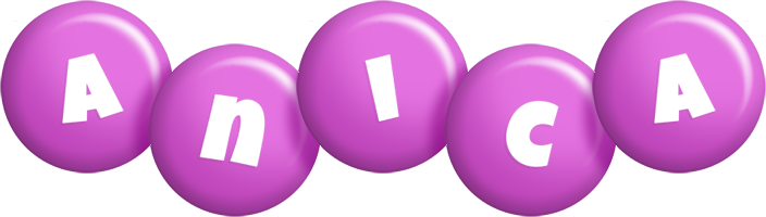 Anica candy-purple logo
