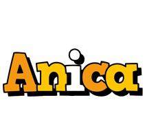 Anica cartoon logo