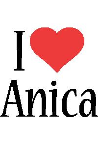 Anica i-love logo