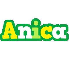 Anica soccer logo