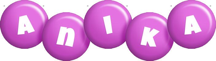 Anika candy-purple logo
