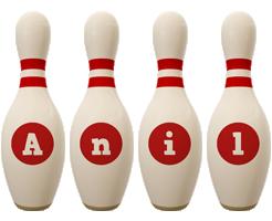 Anil bowling-pin logo