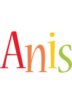Anis birthday logo