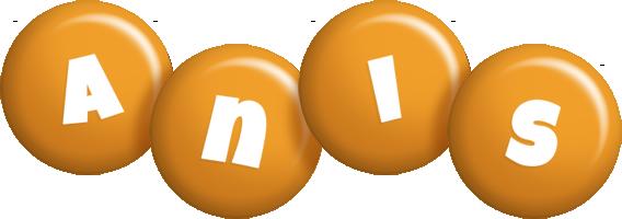 Anis candy-orange logo