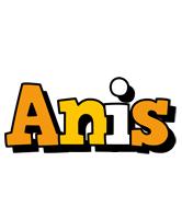 Anis cartoon logo