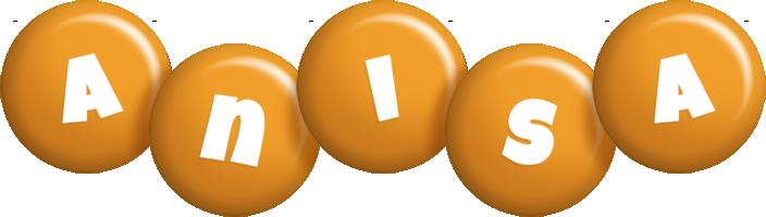 Anisa candy-orange logo
