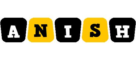 Anish boots logo