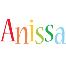 Anissa birthday logo