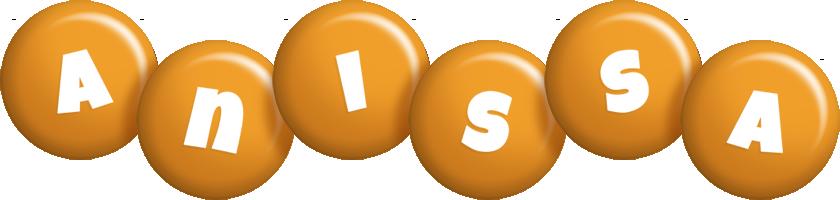 Anissa candy-orange logo