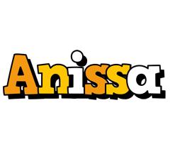 Anissa cartoon logo