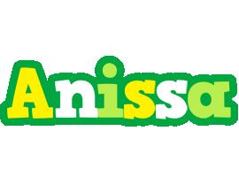 Anissa soccer logo