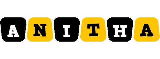 Anitha boots logo