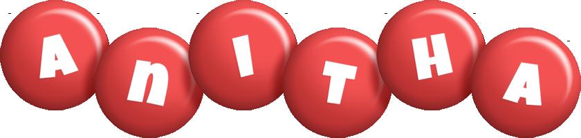 Anitha candy-red logo