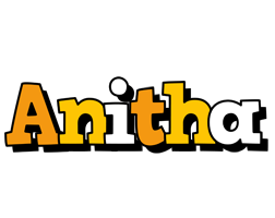 Anitha cartoon logo