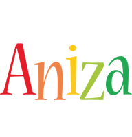 Aniza birthday logo