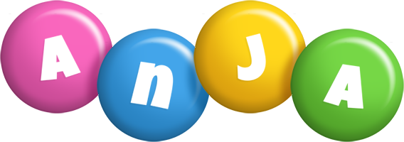Anja candy logo