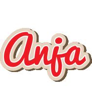 Anja chocolate logo
