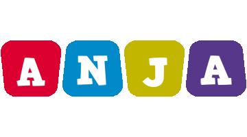 Anja daycare logo