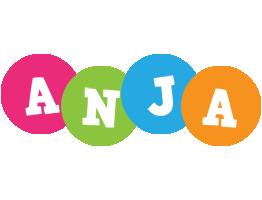 Anja friends logo
