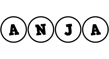 Anja handy logo