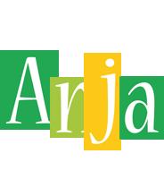Anja lemonade logo