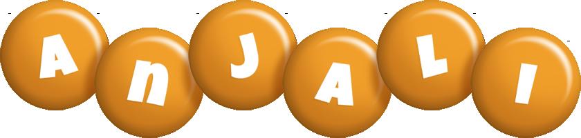 Anjali candy-orange logo