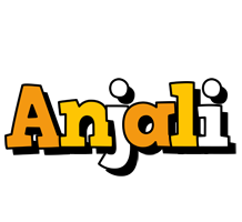 Anjali cartoon logo