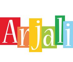 Anjali colors logo